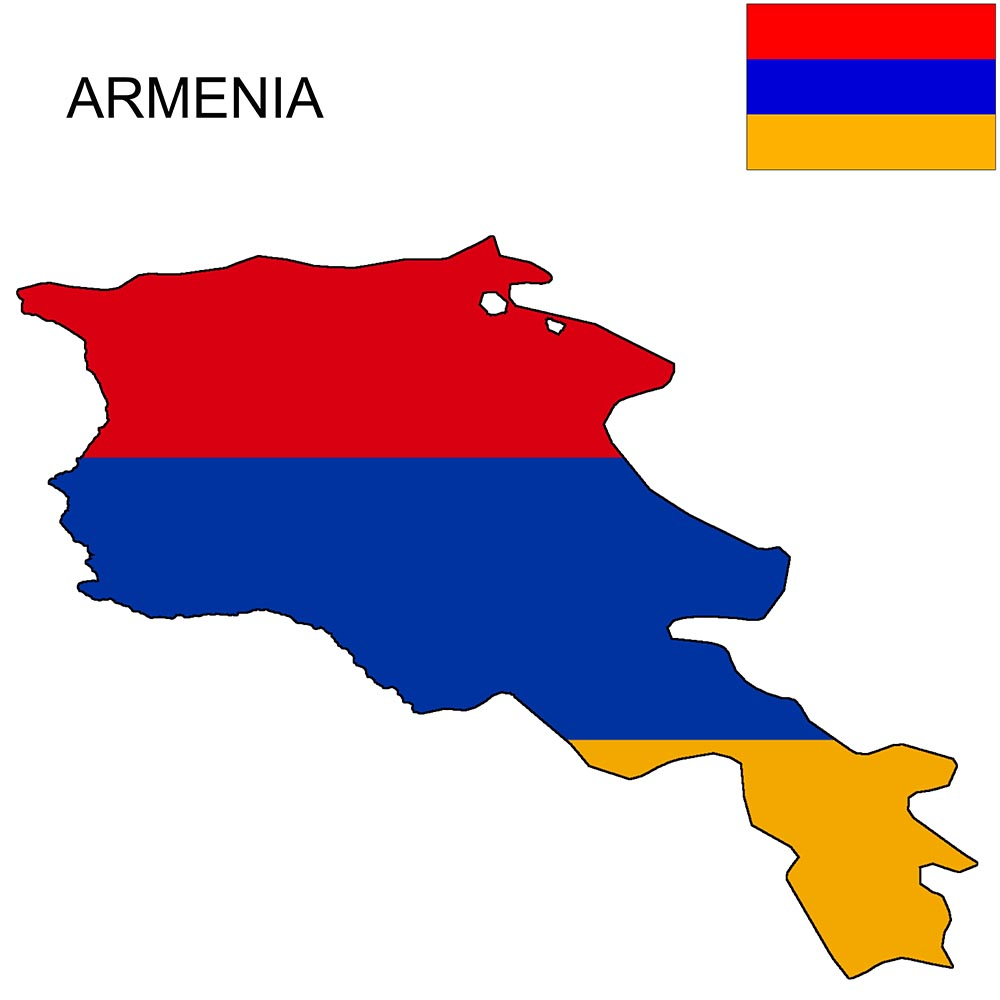 Armenia Flag Map and Meaning 1