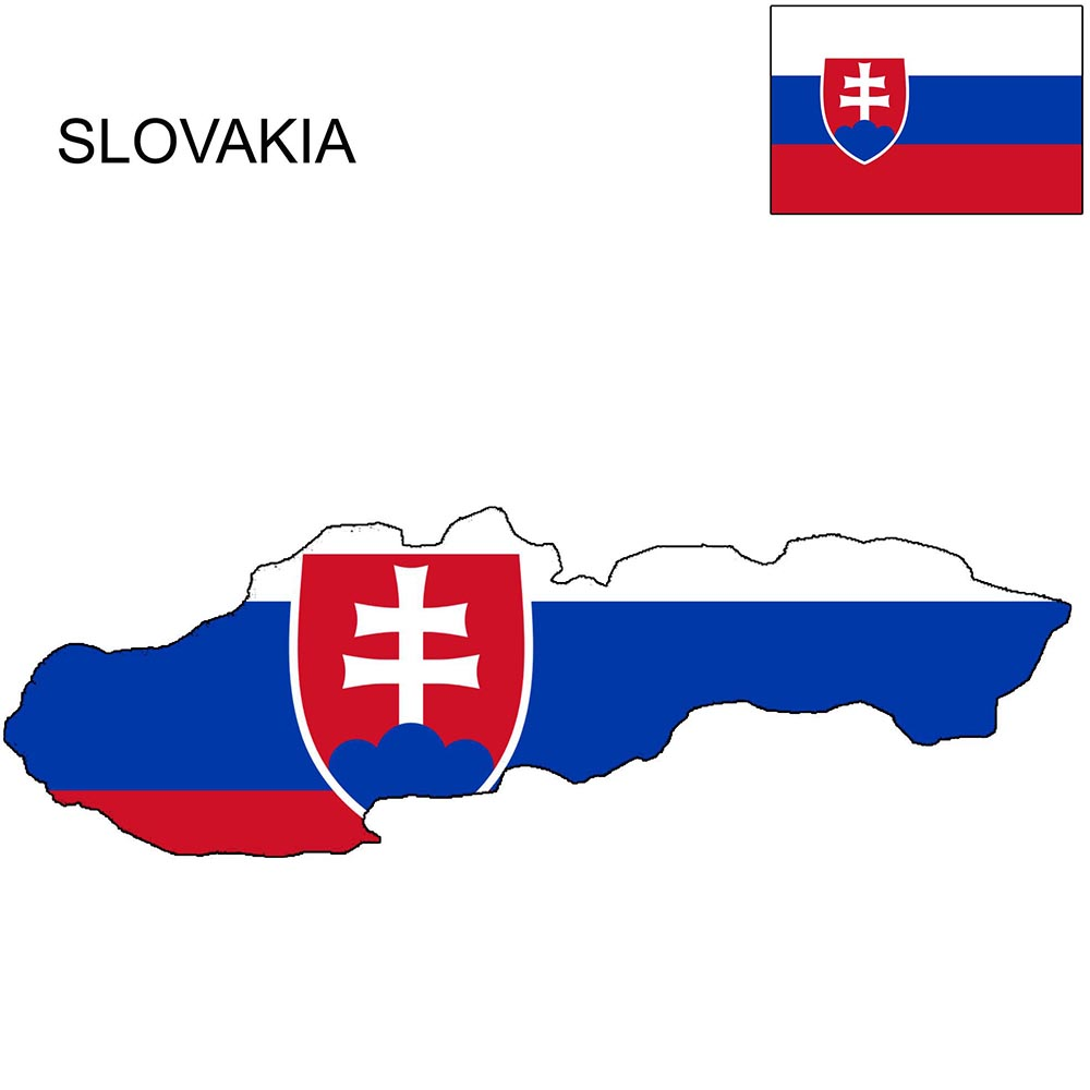 Slovakia Flag Map and Meaning 1