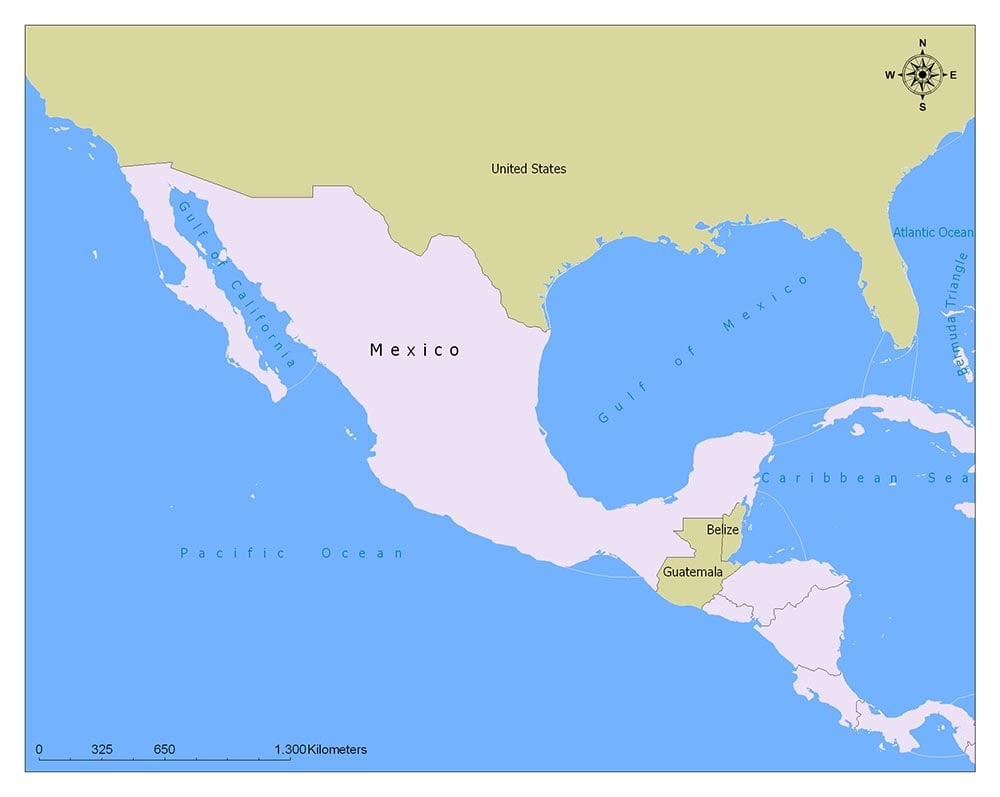 Mexico Flag Map and Meaning 2