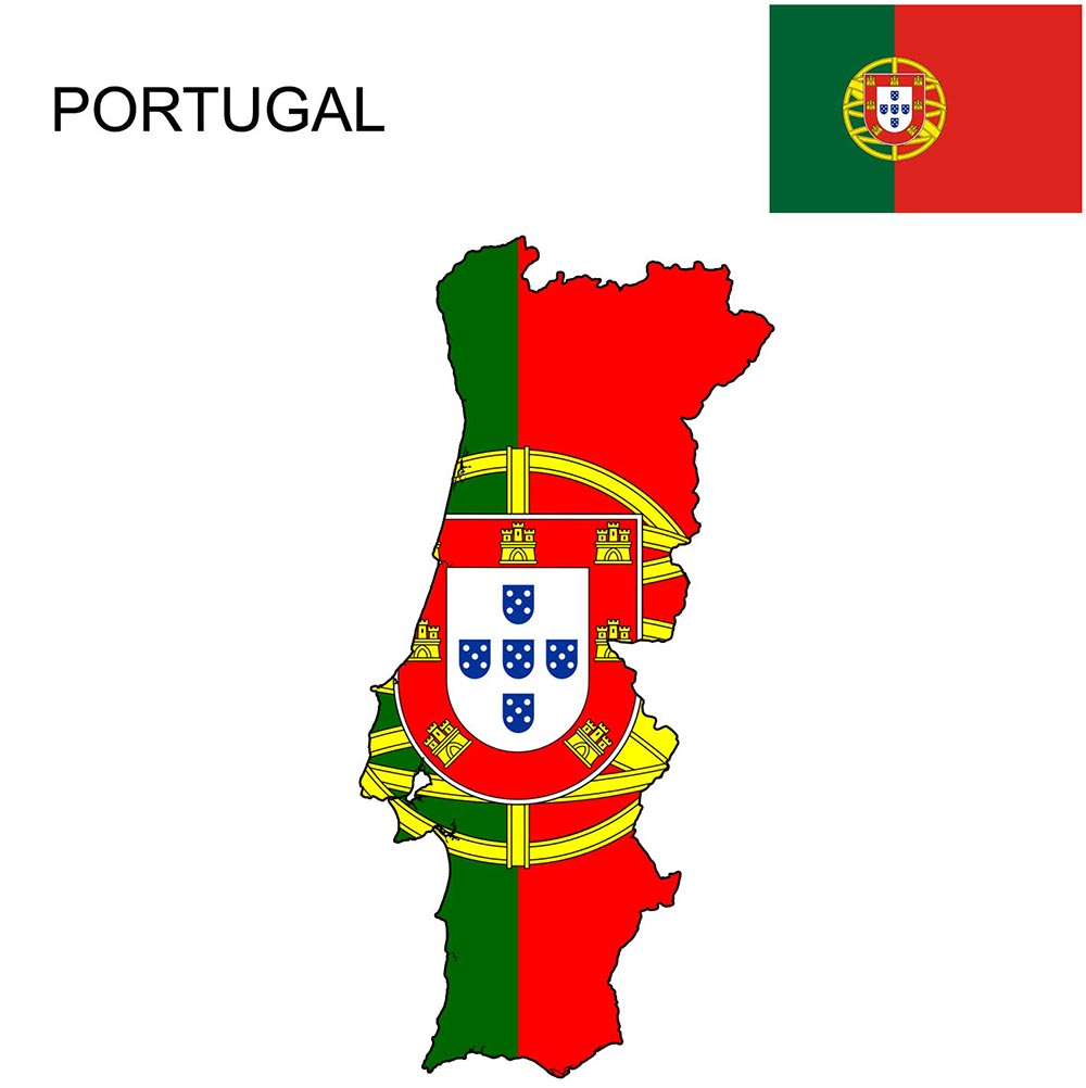 Portugal Flag Map and Meaning 1