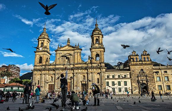 What is the Capital of Colombia? 4