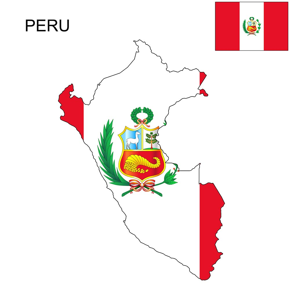 Peru Flag Map and Meaning 1