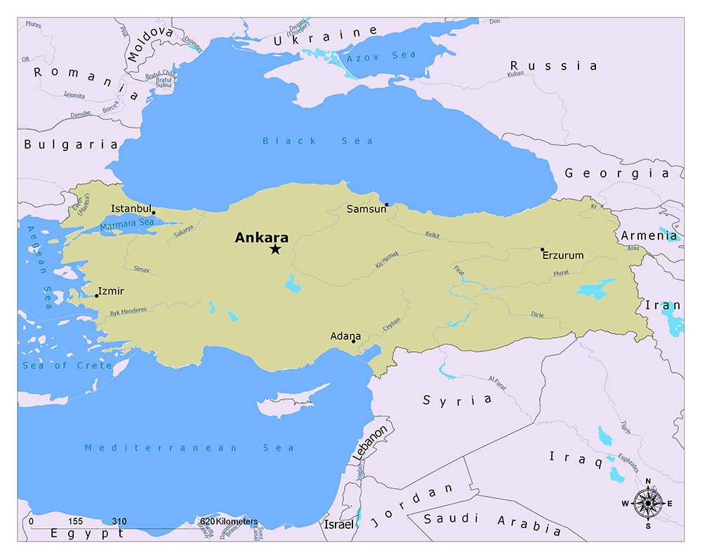 What is the Capital of Turkey? 1