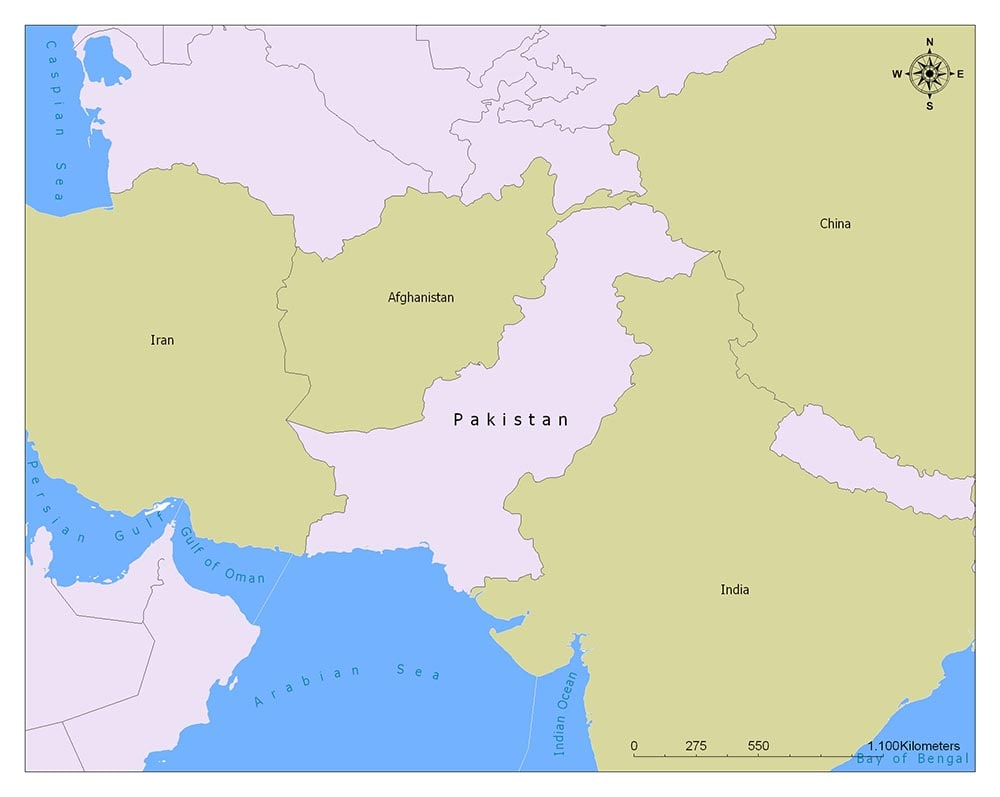 Pakistan Flag Map and Meaning 2
