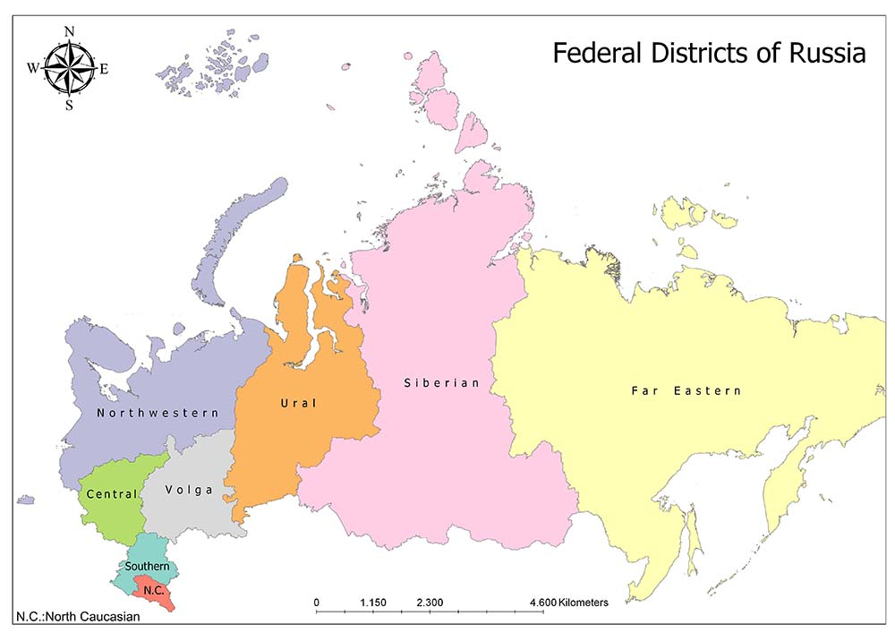 Federal Districts of Russia 1