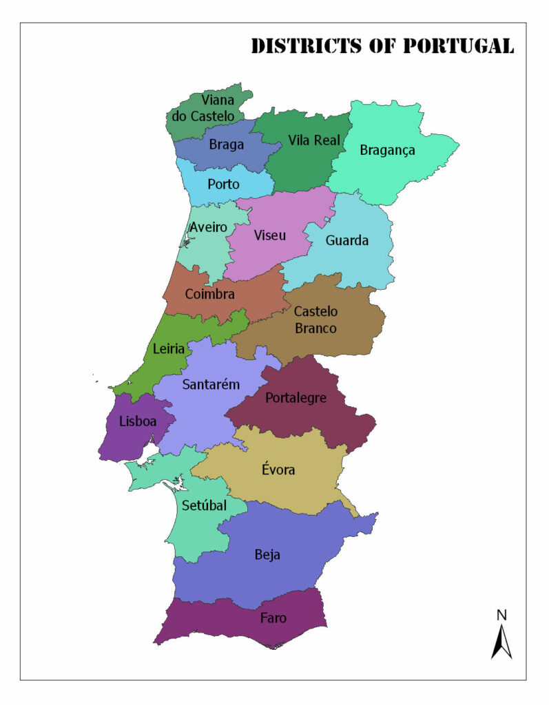 Districts of Portugal 1