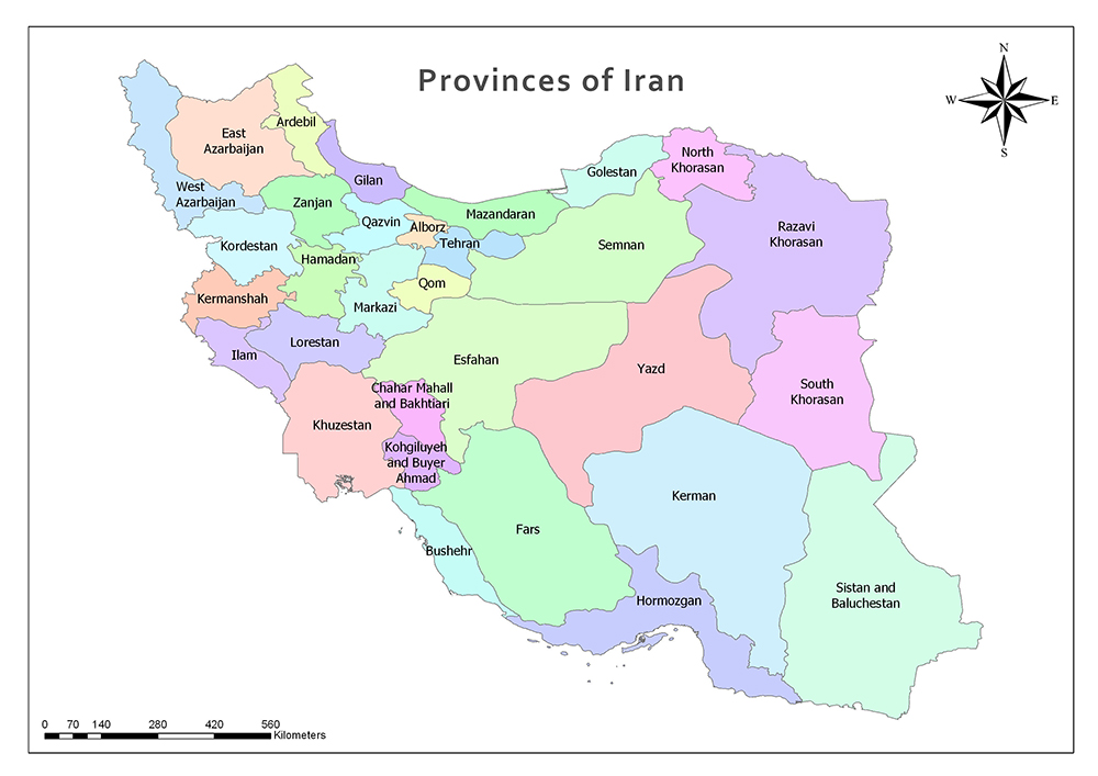 Provinces and Regions of Iran 1
