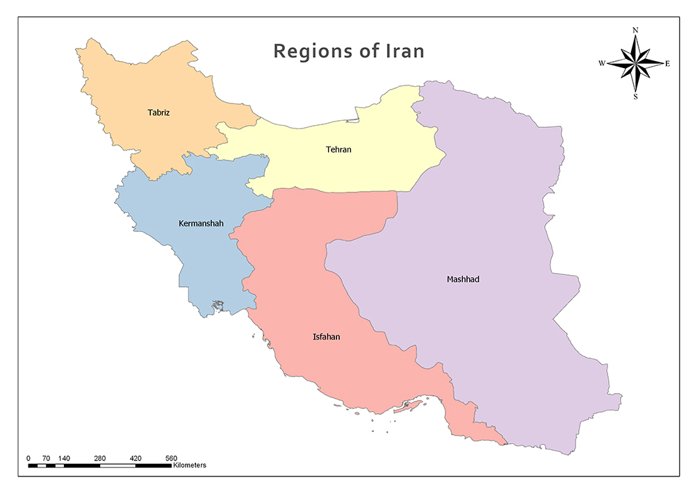 Provinces and Regions of Iran 2