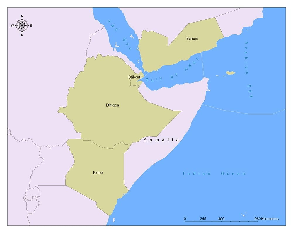 Somalia Flag Map and Meaning 2