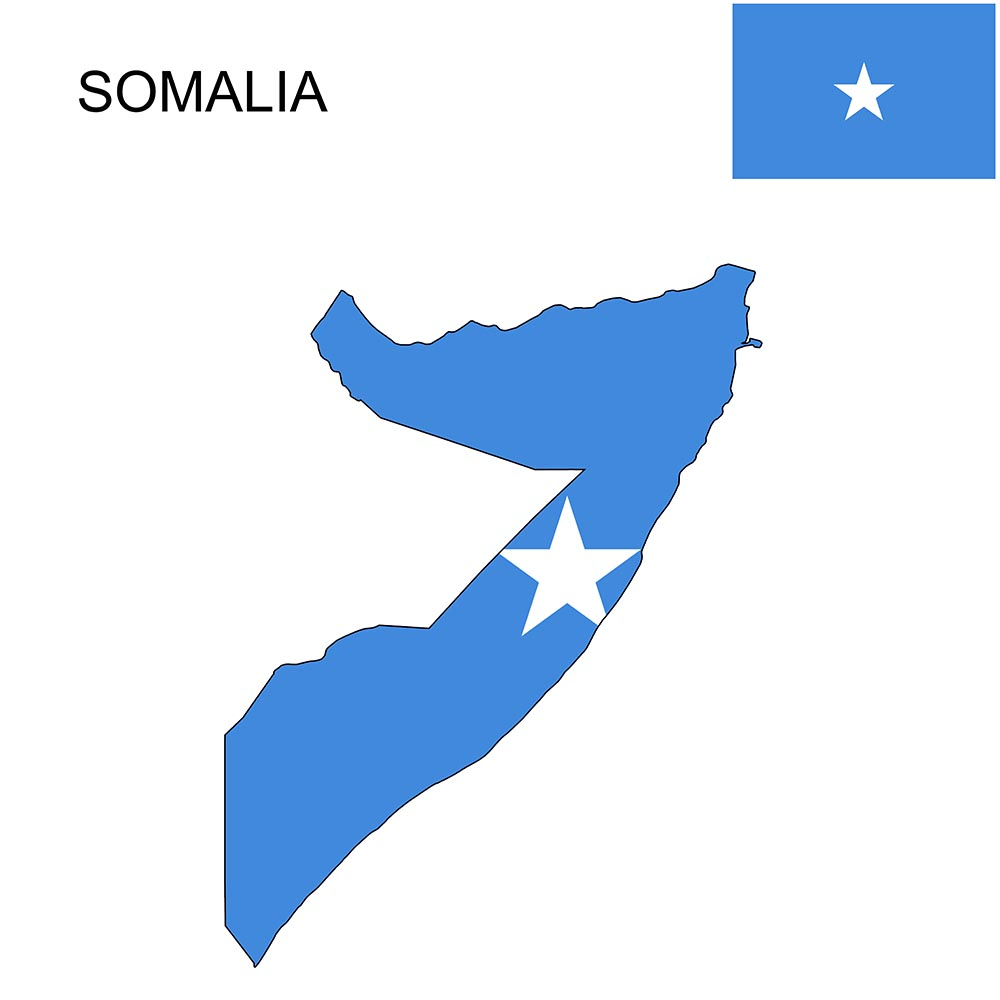 Somalia Flag Map and Meaning 1