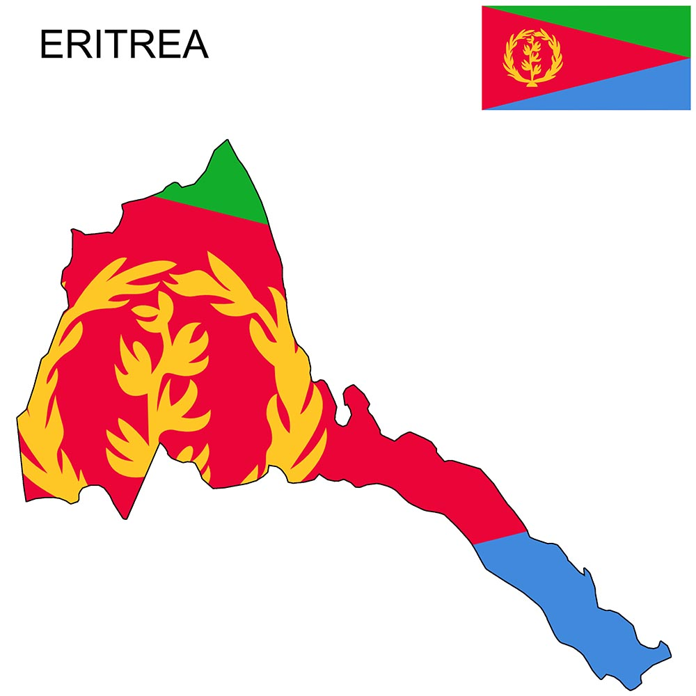 Eritrea Flag Map and Meaning 1
