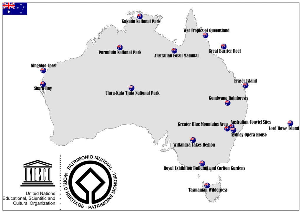 World Heritage Sites in Australia 1