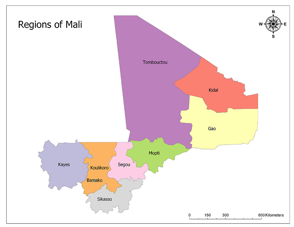 Regions of Mali 1