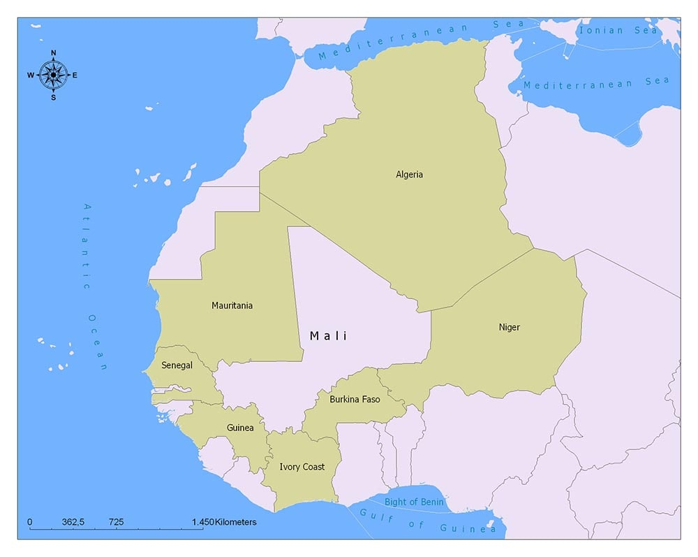 Mali Flag Map and Meaning 1