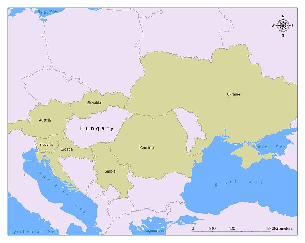 Hungary Flag Map and Meaning 1