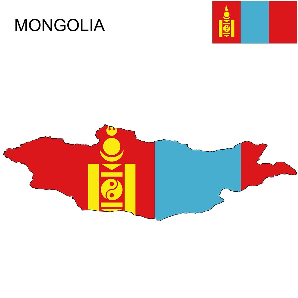 Mongolia Flag Map and Meaning 1