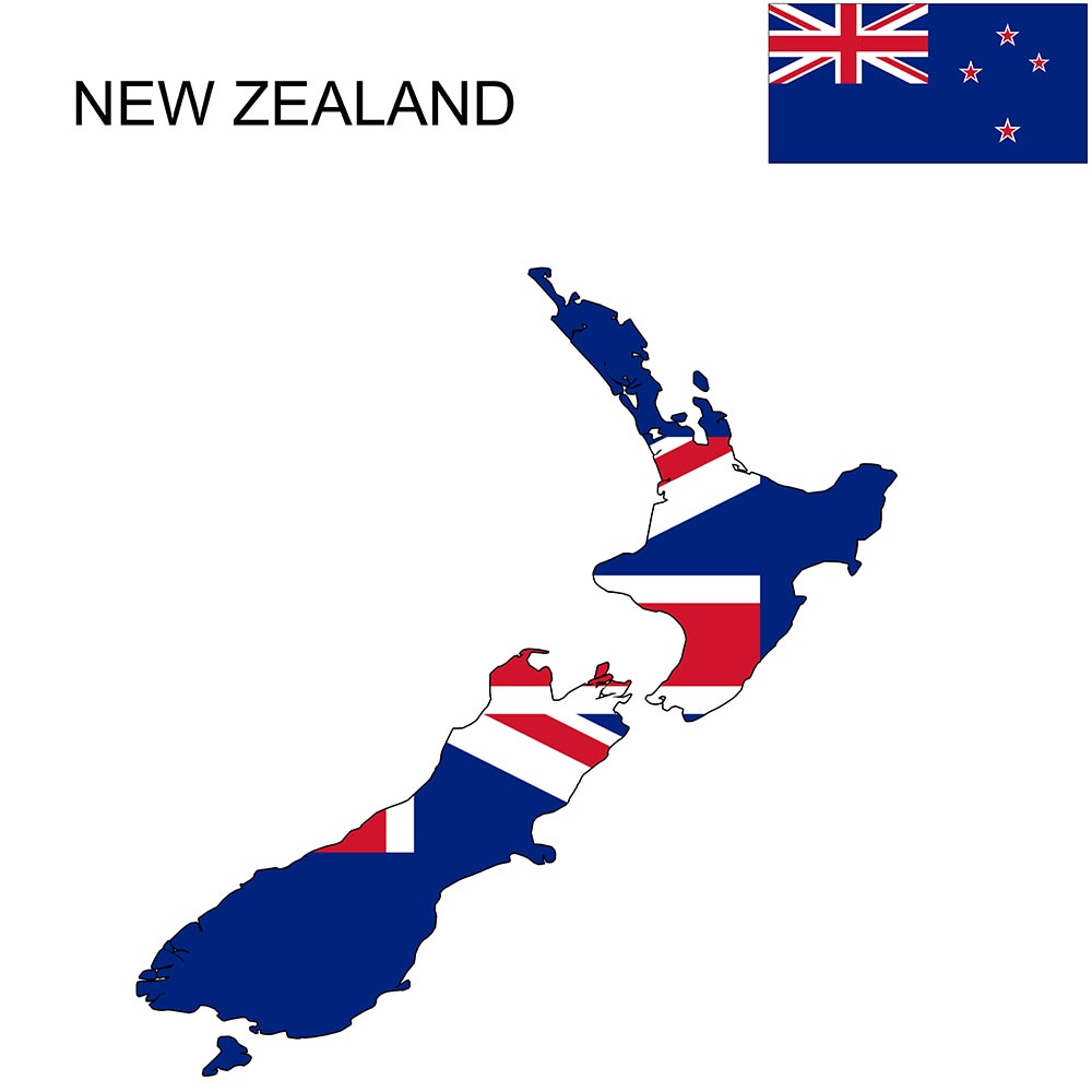 New Zealand Flag Map and Meaning 1