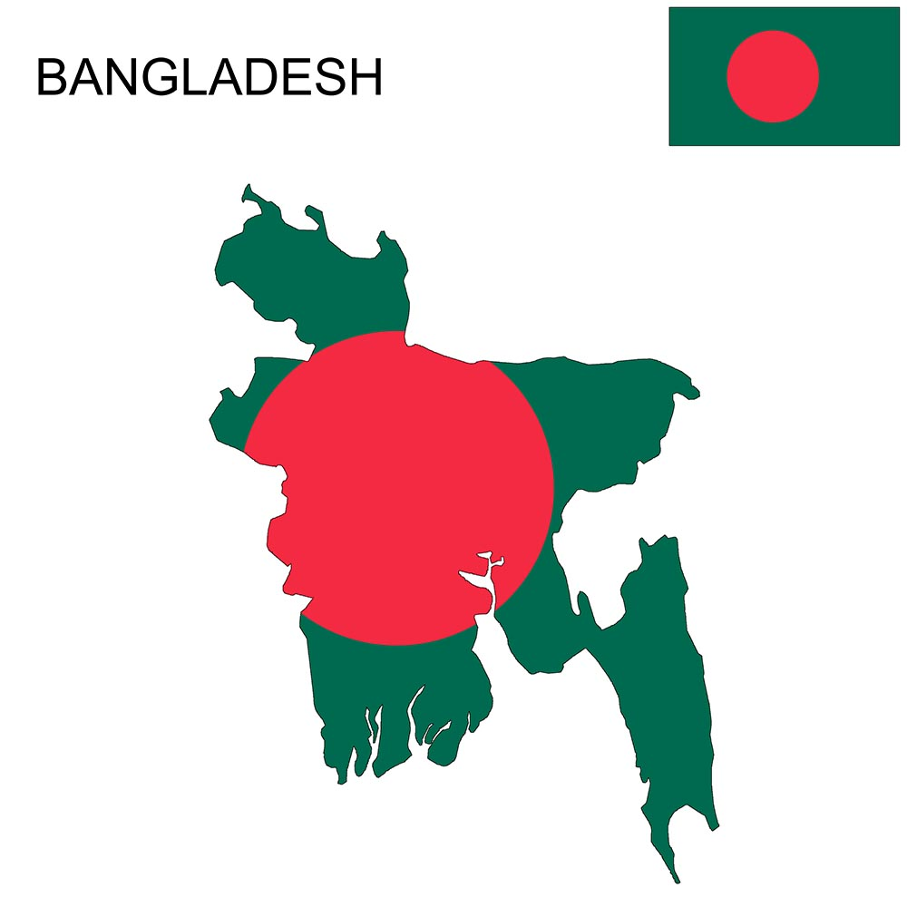 Bangladesh Flag Map and Meaning 1