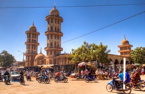 Regions of Burkina Faso 4