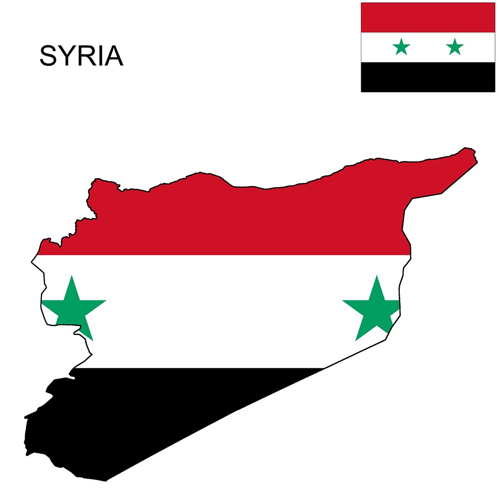 Syria Flag Map and Meaning 1