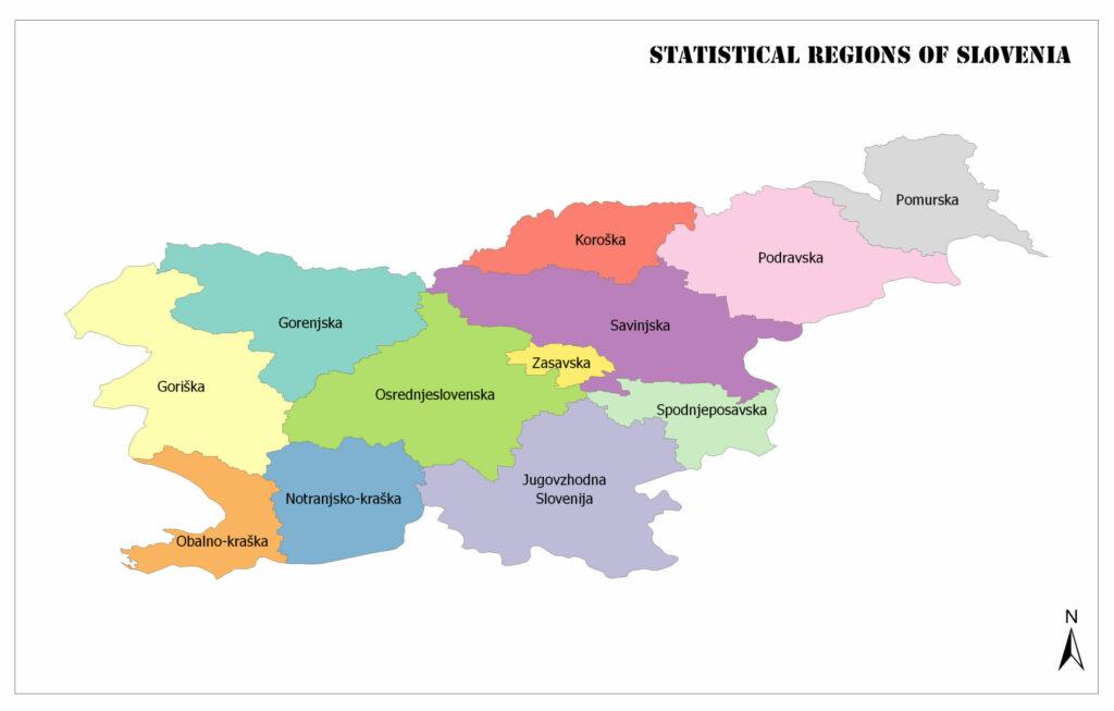 Statistical Regions of Slovenia 1