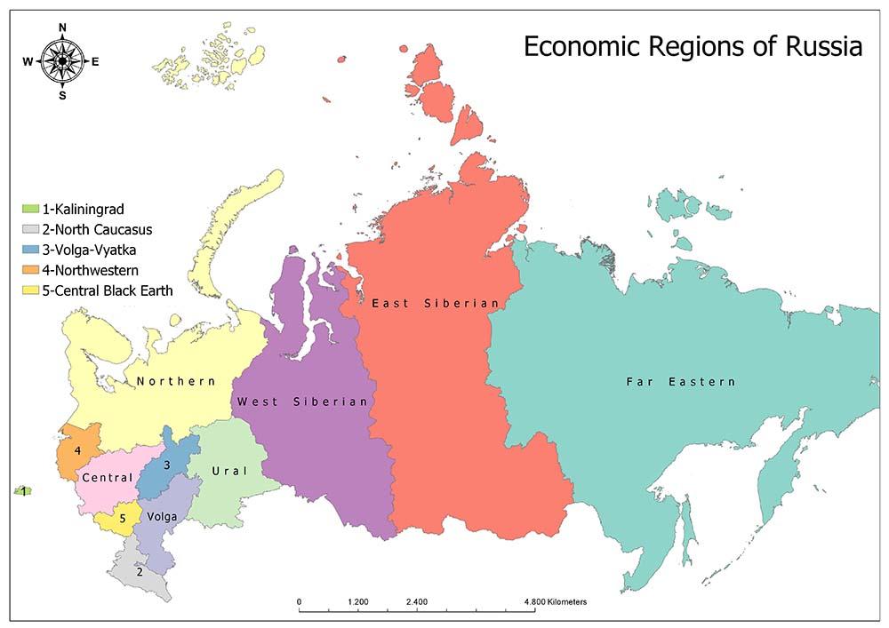 Economic Regions of Russia 1