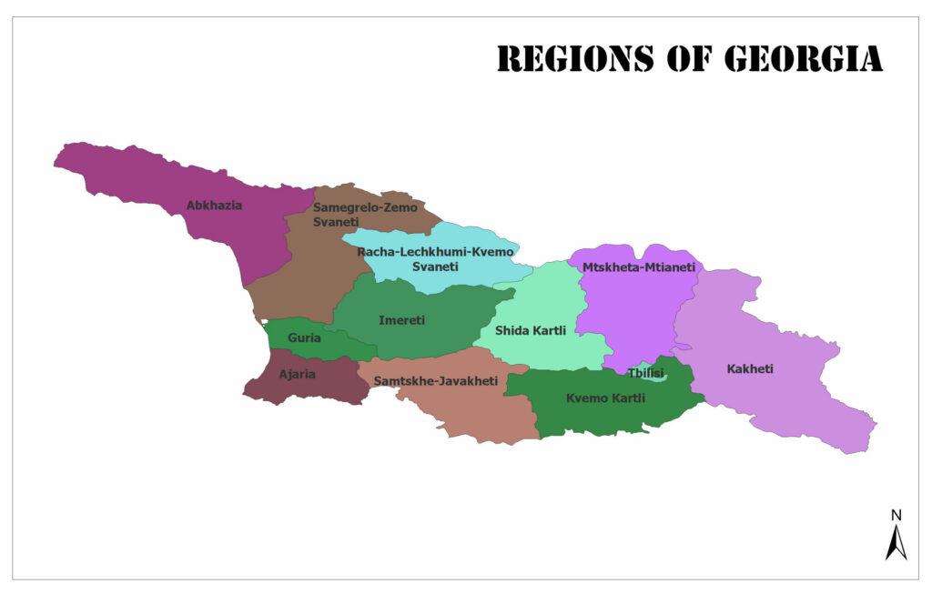 Regions of Georgia 1