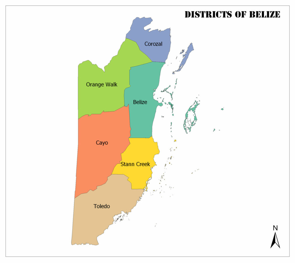 Districts of Belize 1