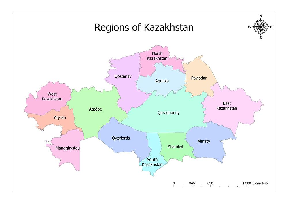 Geographic Regions of Kazakhstan 1