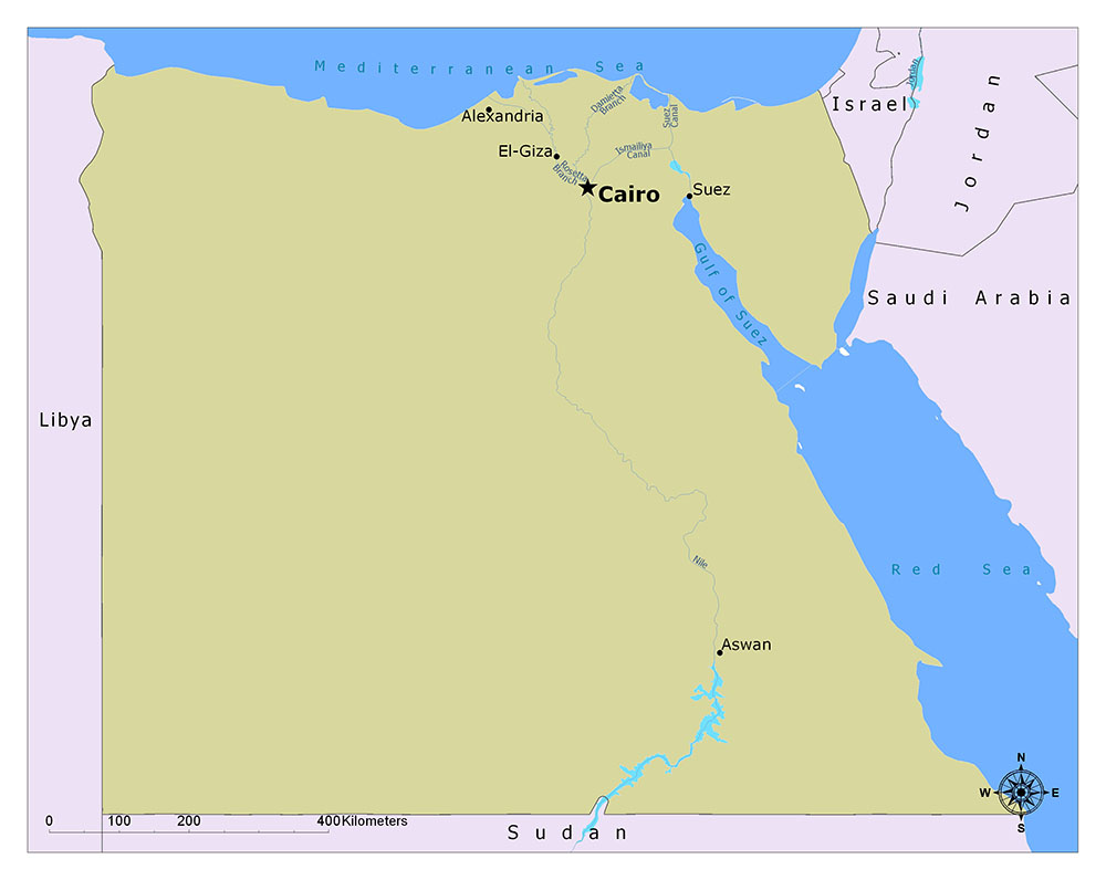 What is the Capital of Egypt? 1