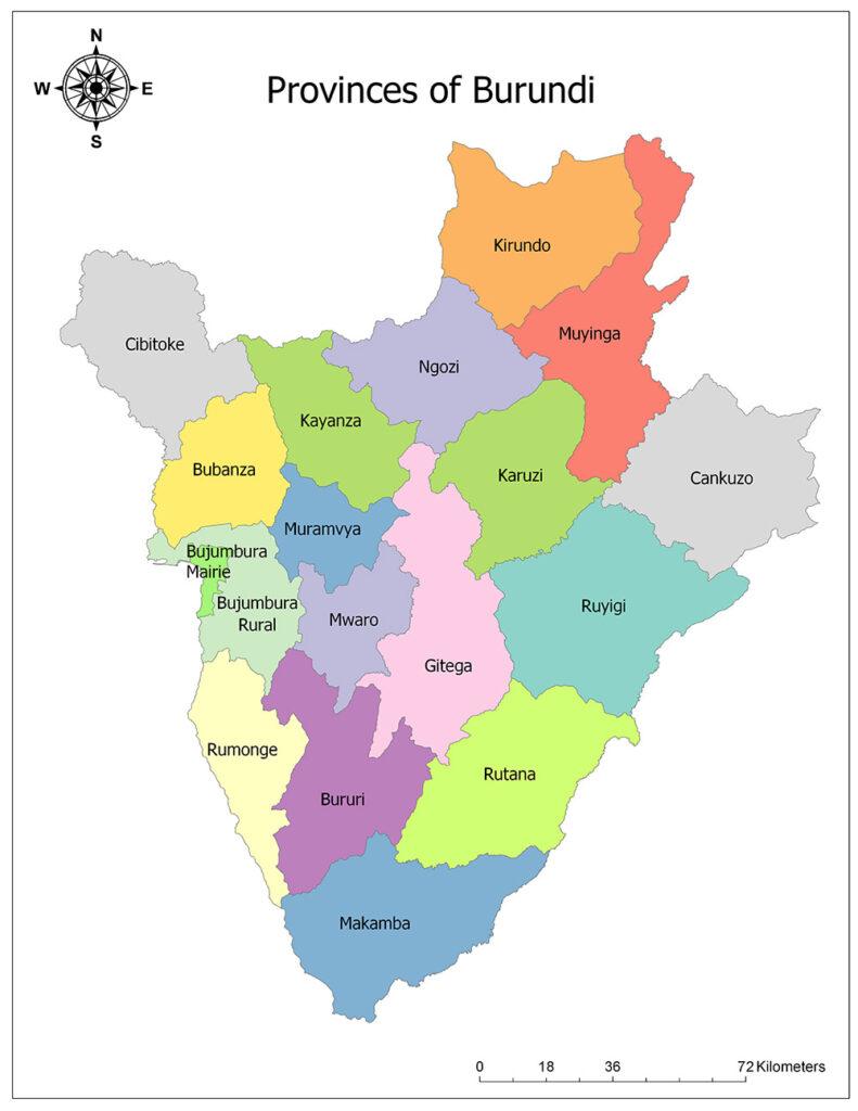 Provinces of Burundi 1