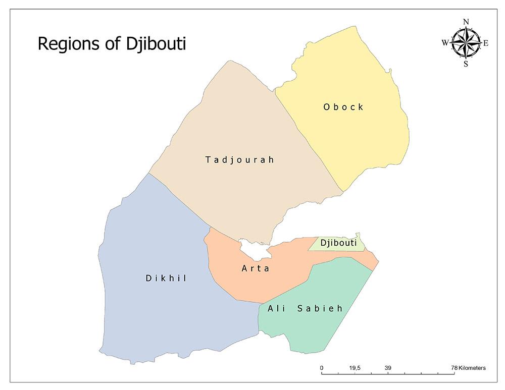 Regions of Djibouti 1