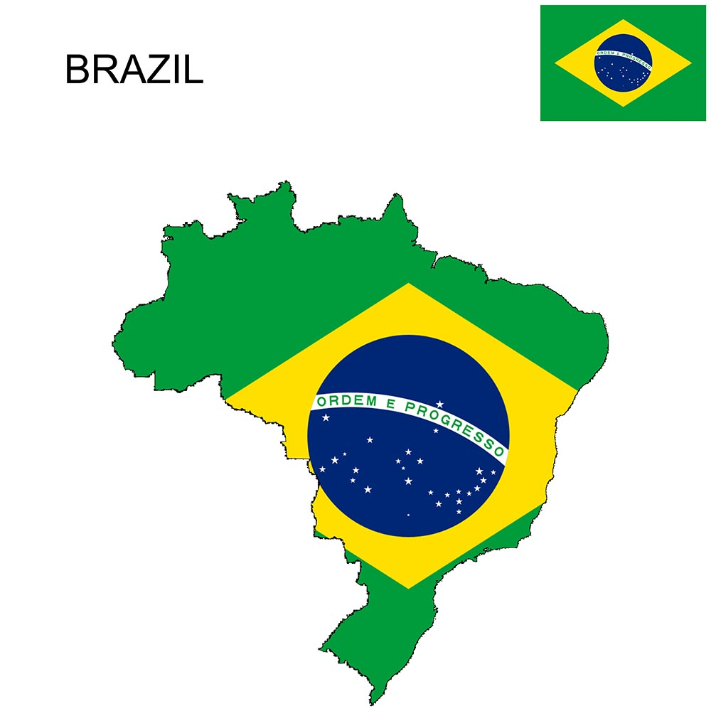 Brazil Flag Map and Meaning 1