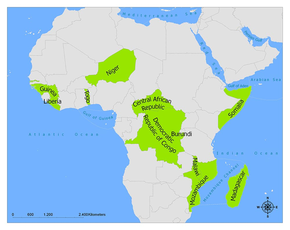 Poorest Countries in Africa / Most Impoverished Countries 1