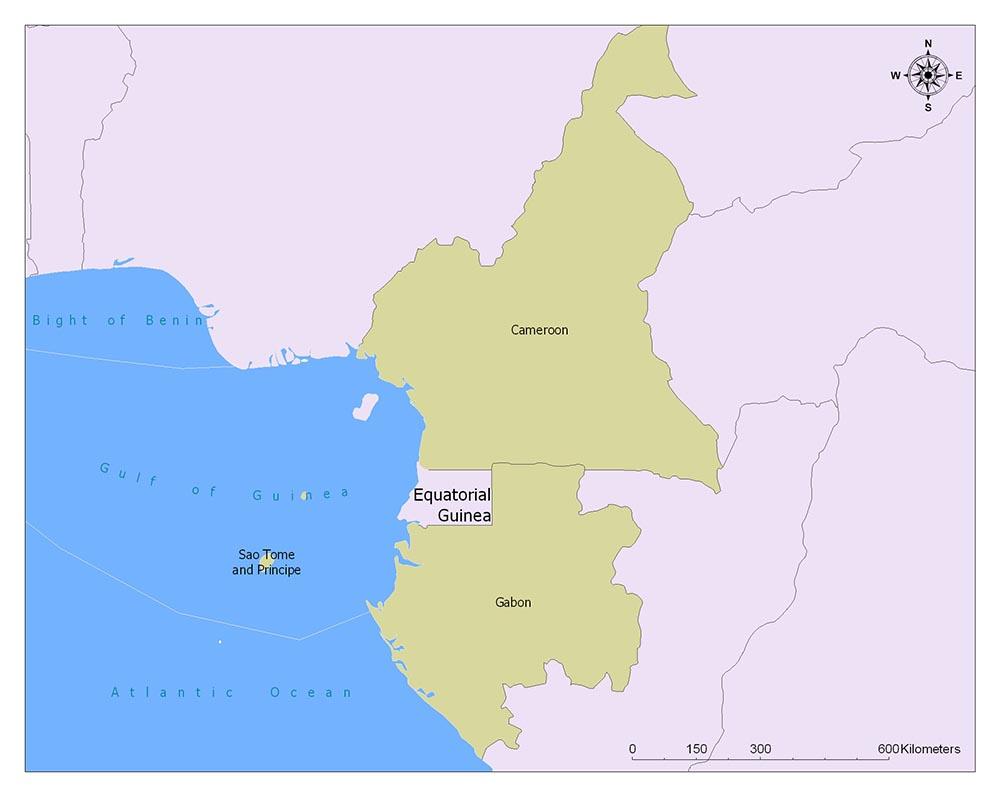 Neighboring Countries of Equatorial Guinea