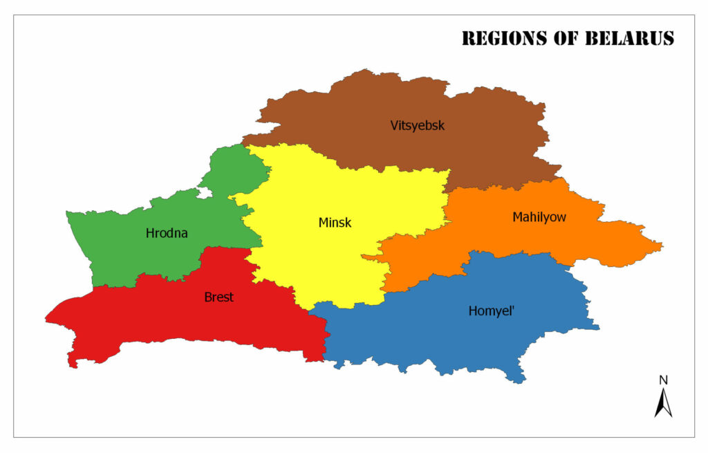 Regions of Belarus