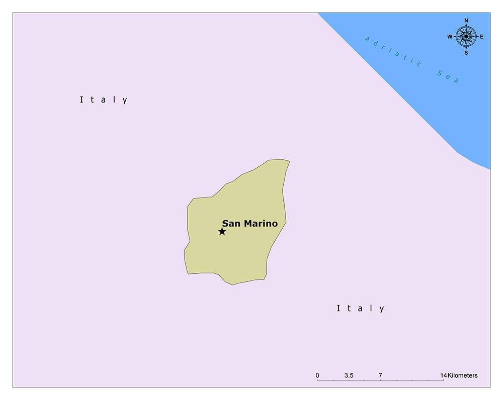 Where is San Marino?