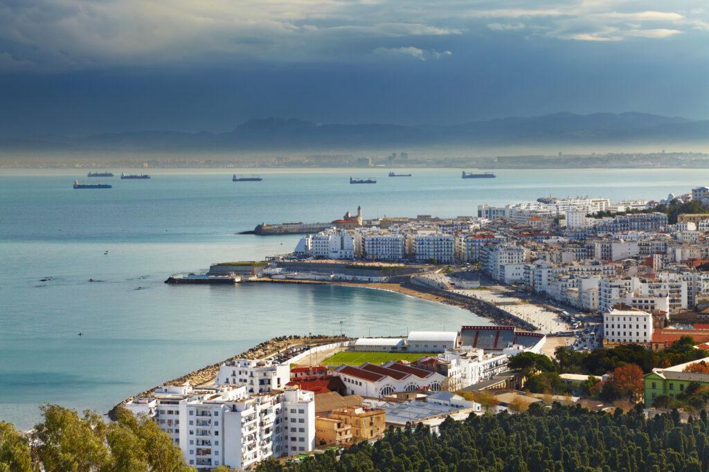 Algiers the capital city of Algeria