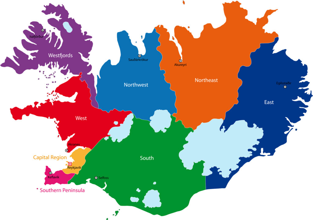 Iceland / Maps, Geography, Facts 2