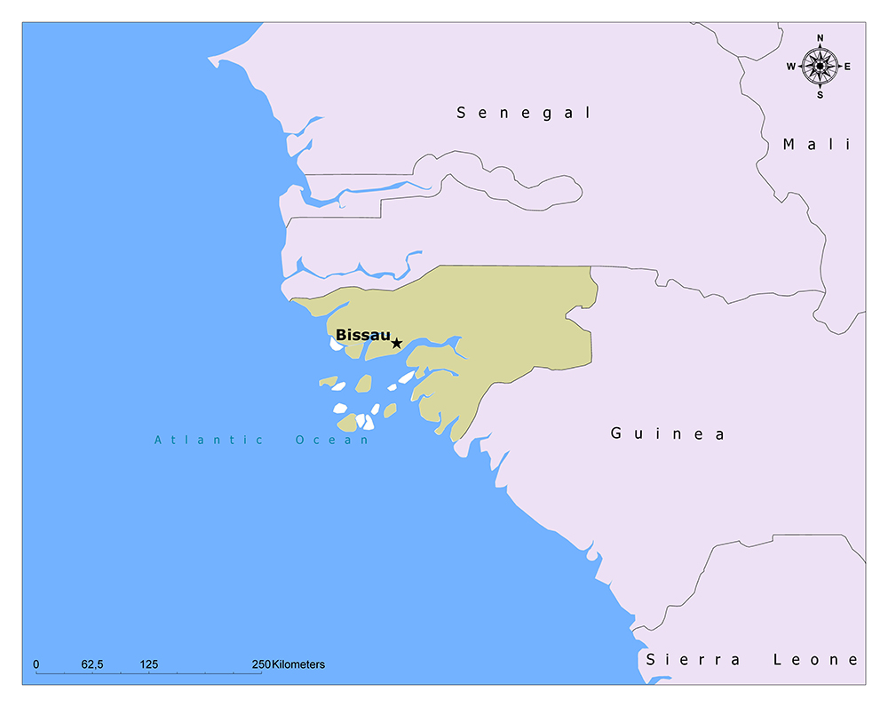 What is the Capital of Guinea-Bissau? 1