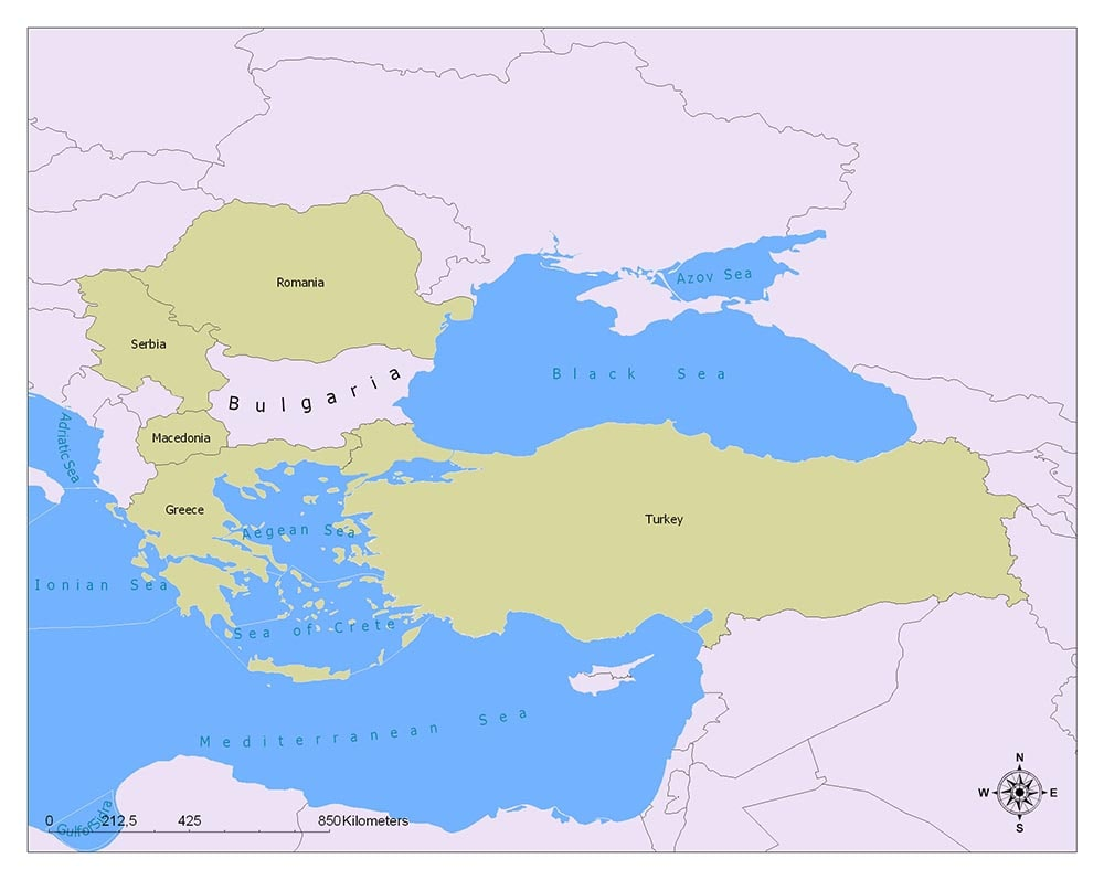 Bulgaria's Neighbors