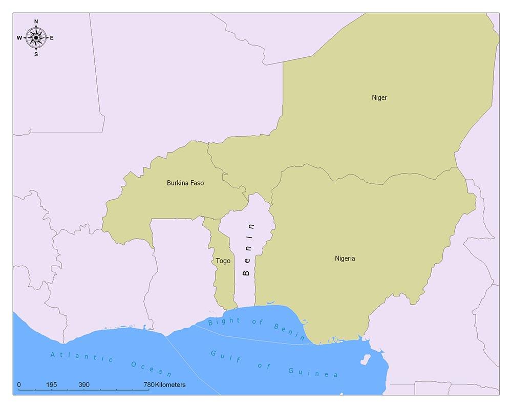 Neighboring Countries of Benin