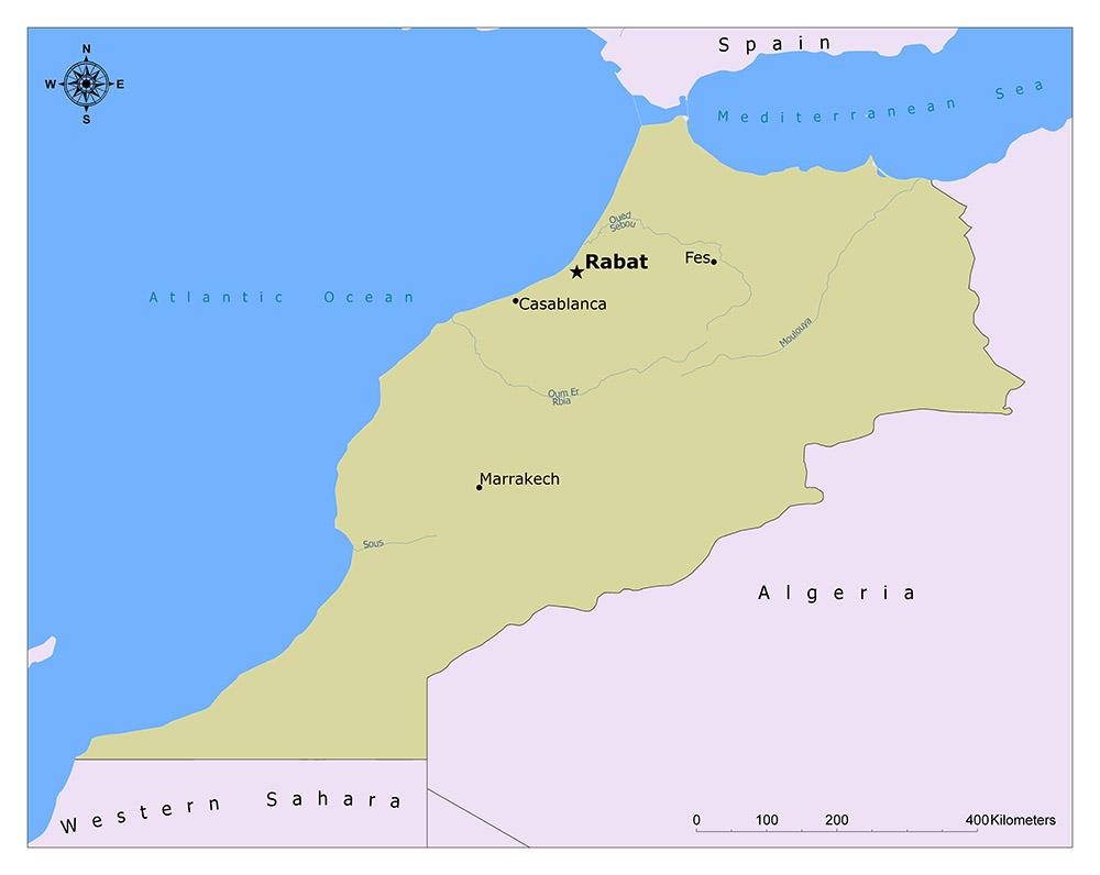 Where is Rabat?