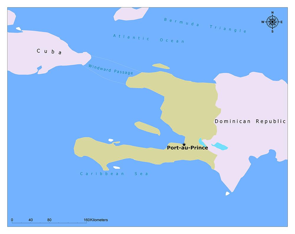 Where is Port-au-Prince?