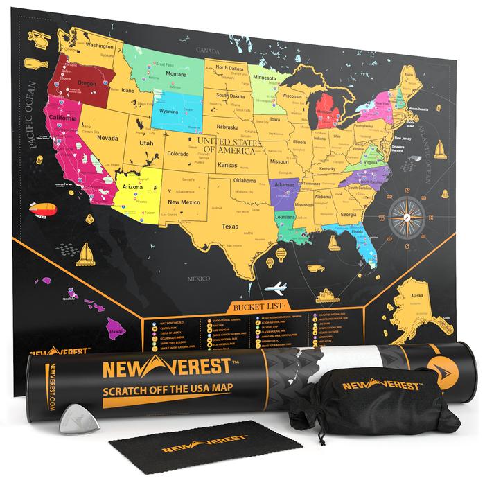 Best USA Scratch Off Maps in 2021 3