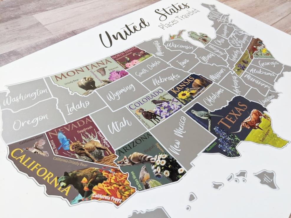 Best USA Scratch Off Maps in 2021 8