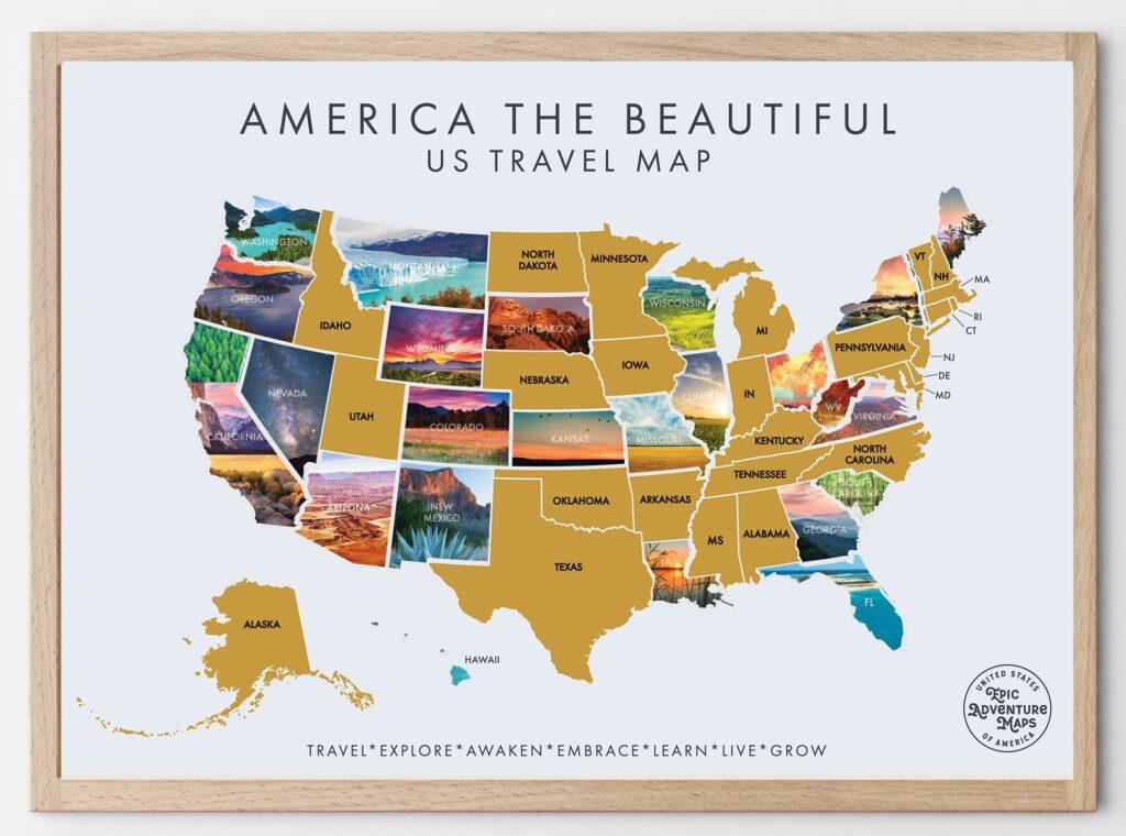 Best USA Scratch Off Maps in 2021 7