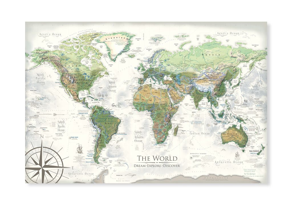 Best World Map Posters 5