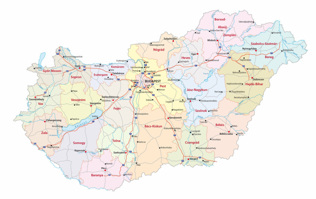 Hungary / Maps, Geography, Facts 2