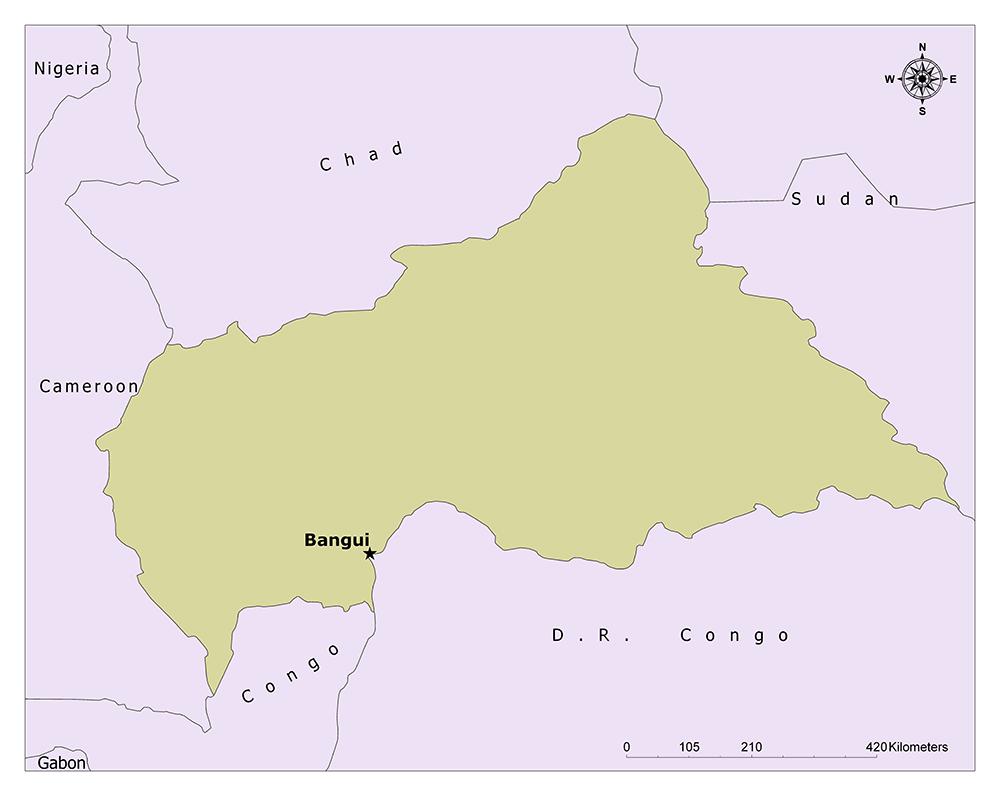Where is Bangui?
